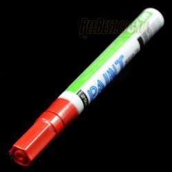 Красный маркер лаковый особоусойчивый для мечения маток, Корея