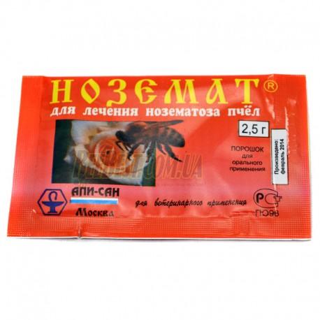 Ноземат 2,5 г - препарат для пчел (лечение и профилактика нозематоза)