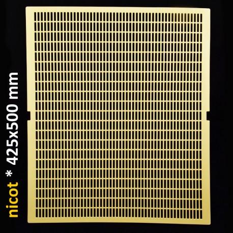 Решетка разделительная для 10-ти рамочного улья. Никот, Франция 425 x 500 мм