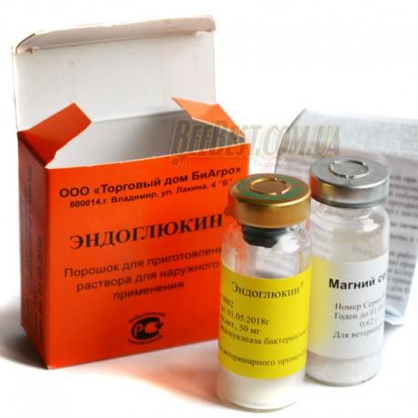 Эндоглюкин +магний сернокислый противовирусный препарат для пчел