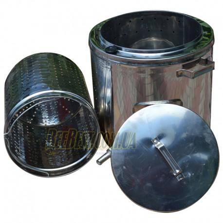 Воскотопка из нержавеющей стали (17 литров)