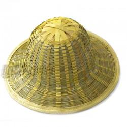Шляпа бамбуковая