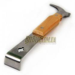 Стамеска (нержавейка + деревянная ручка), 26 см